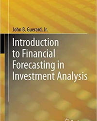 "Cover of book ""Introduction to financial forecasting in investment analysis"" by John Guerard"