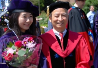 Professor Tung at 2017 graduation