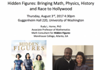 Hidden Figures Talk Detail