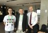 Felix Ye with Ken Ribet and Jakob Kotas