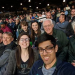 Curtis and family at a Mariners game.