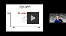 YouTube link to David Goluskin: Variational analysis of fluid equations with help from computational optimization